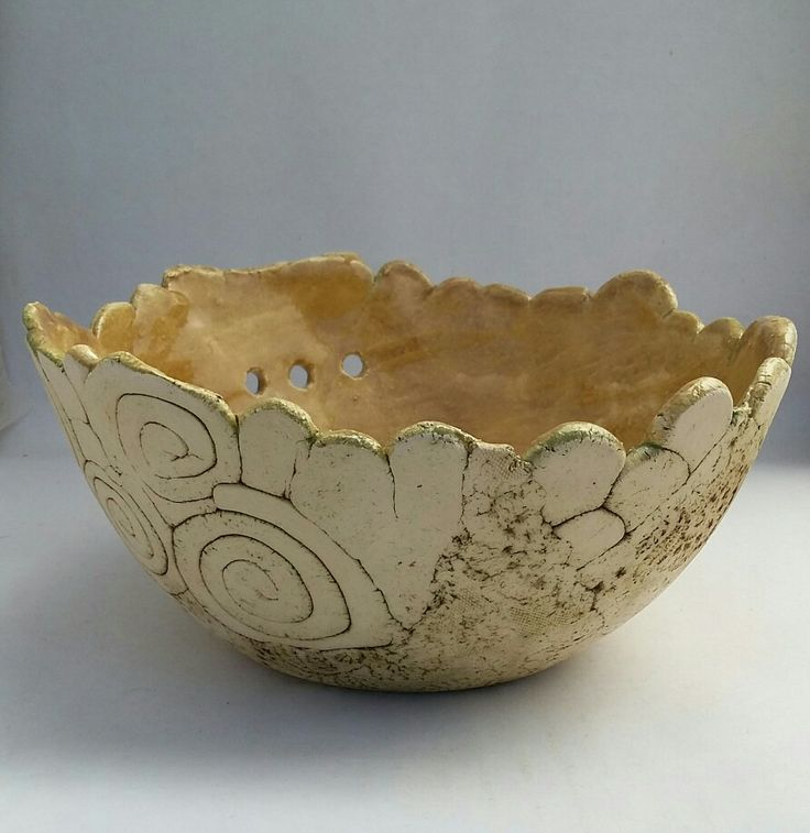 Ceramic bowl, handmade pottery by Jennifer Steyn
