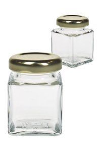 Quadratglas  50 ml