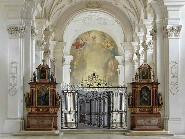 'Barock' / Photographic Installation by Renate Buser at Bellelay Abbey | http://www.yellowtrace.com.au/renate-buser-baroque-bellelay-abbey/