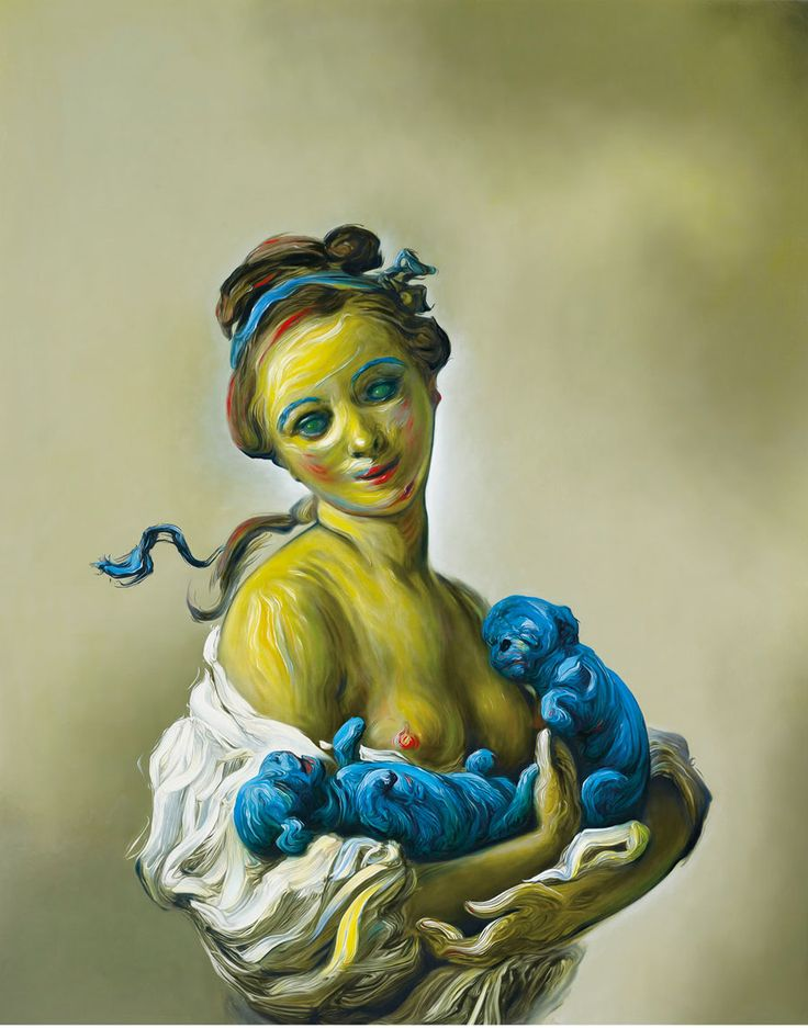Glenn Brown - Gagosian Gallery