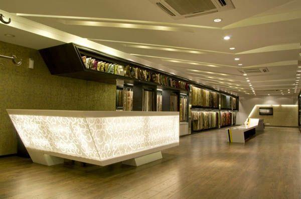 Design d'intérieur moderne bâtiment commercial de Cadence Architects