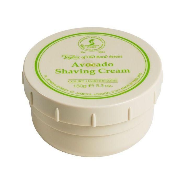 TAYLOR OF OLD BOND STREET  Avocado Shaving Cream – Crema de Afeitar Aguacate 150 g.