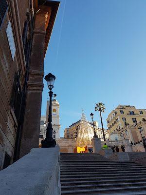 When in Rome...see Christmas celebrated elsewhere. #Rome #Roma #Christmas #ChristmasTree #Termini #natale #Profumum #SpanishSteps #Bulgari #SanSalvatoreinOnda #GalleriaAlbertoSordi #ViadiRipetta #ViadelBabuino #TrinitadeiMonti