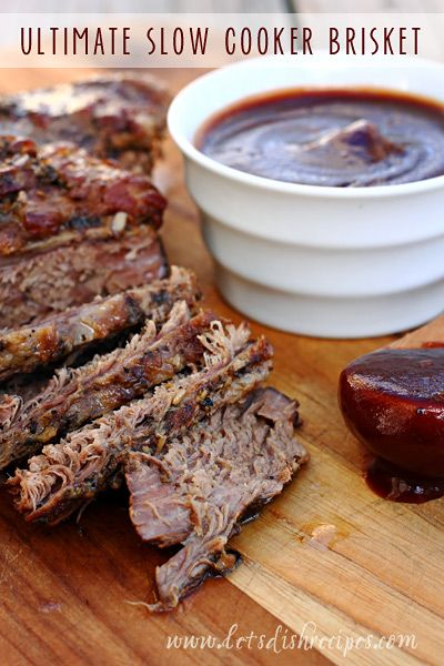 Ultimate Slow Cooker Brisket Recipe on Yummly. @yummly #recipe