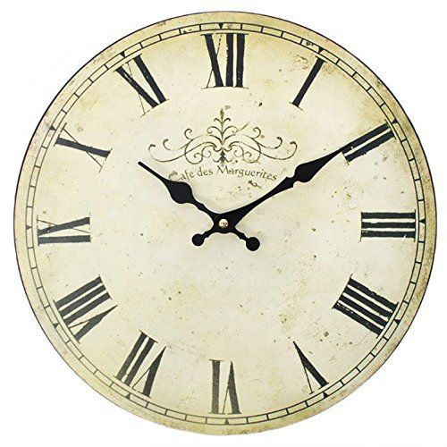 Large Shabby Chic Antiqued Cream Vintage Wall Clock 30cm ... https://www.amazon.co.uk/dp/B006ZN2ZY0/ref=cm_sw_r_pi_dp_x_abjeyb9GMG8DY