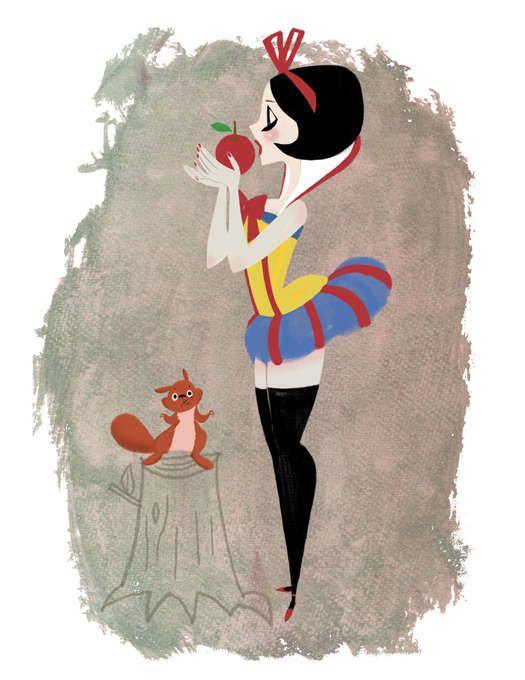 Pin Up Cartoons: Keiko Murayama Designs Cute & Stylish Pin Up Girls