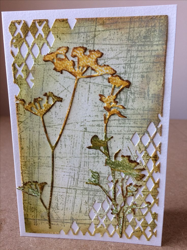 Tim Holtz Wildflowers Like this background.