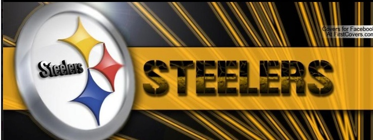 "Masculine: The colors correspond with the team logo so the viewer automatically knows what they are looking at. The Steelers symbol is tilted so the eye is drawn to the black and gold pattern and ""Steelers"" print."