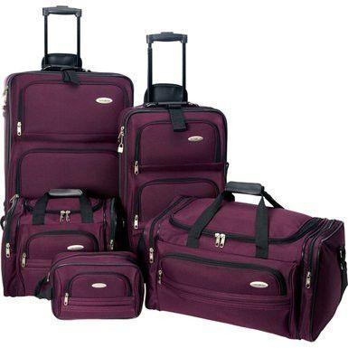 Best 20  Purple luggage ideas on Pinterest | Purple love, Purple ...