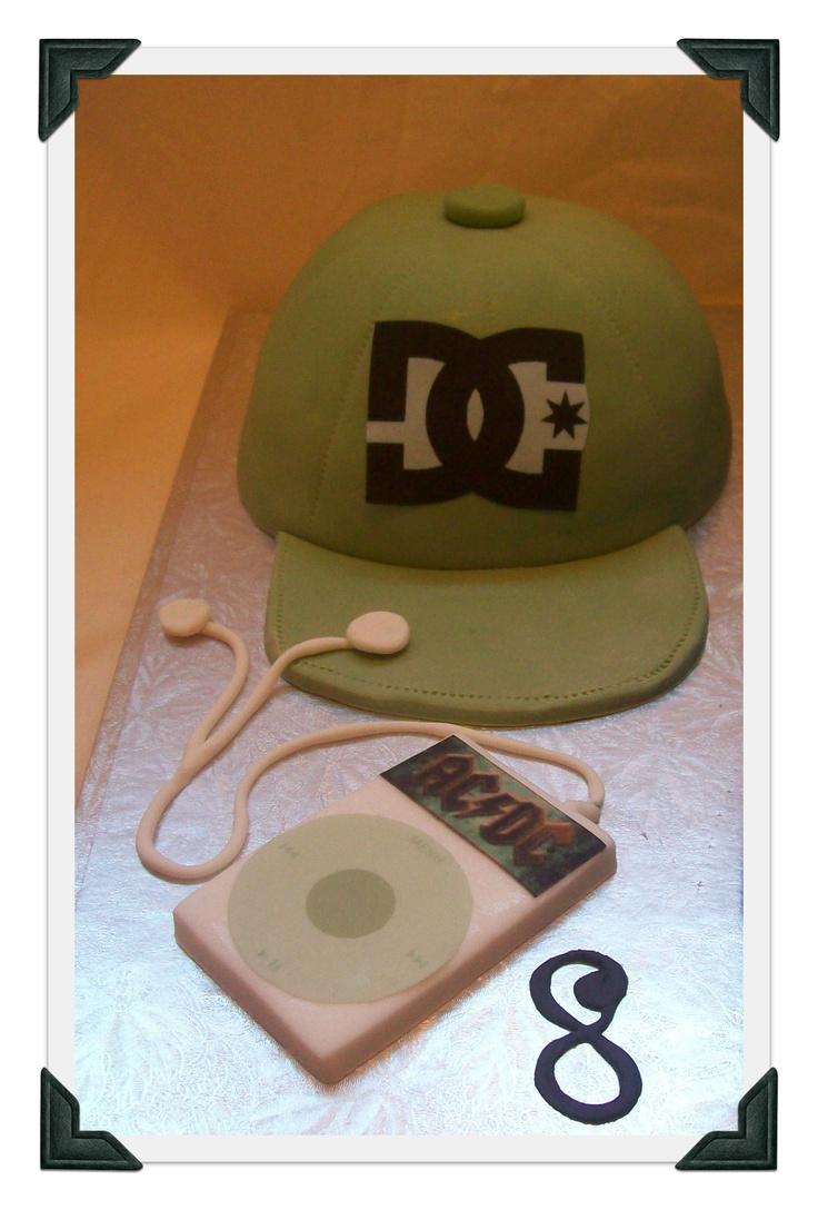 Mens Cap Cake $150