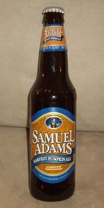Samuel Adams Harvest Pumpkin Ale - Boston Beer Company (Samuel Adams) - Jamaica Plain, MA - BeerAdvocate