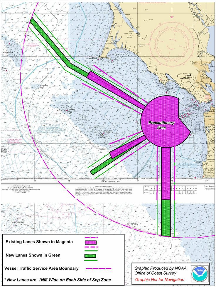 Did you know that ship tracking data from MarineCadastre.gov are being used along the West Coast (Los Angeles, Long Beach, and San Diego, California) for everything from mapping vessel noise to assisting a ship-strike working group to providing context for marine mammal density data? #ocean planning #marine mammals