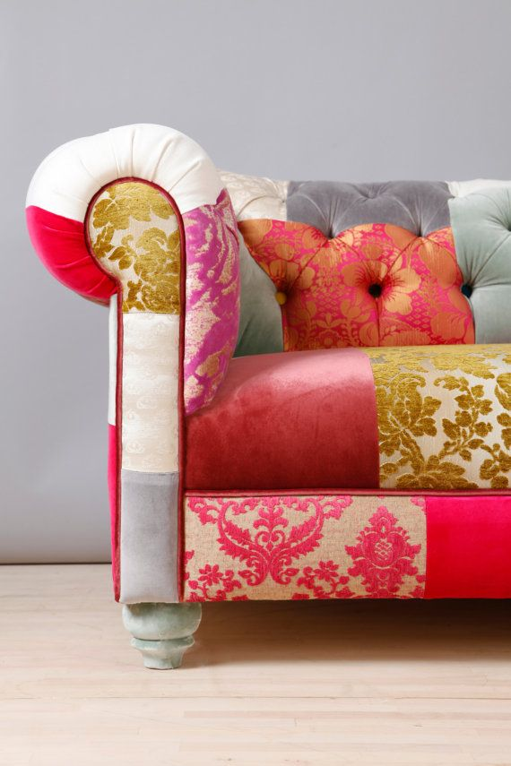 25 Best Ideas About Patchwork Sofa On Pinterest Funky Chairs Purple Bohemian Bedroom And