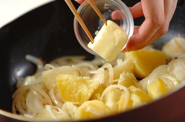 Как приготовить жареный картофель карри - рецепт, ингридиенты и фотографии