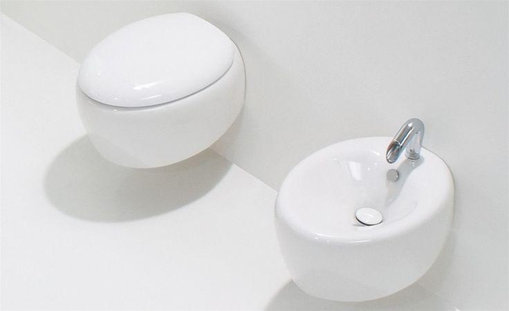 #GSG #Touch wandhänged #Toilette, #Bidet und original #WC-Deckel