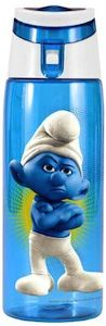 Grouchy Smurf Water Bottle for all you Smurfs fans
