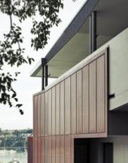 Clontarf Residence | Smith & Tzannes Architects | copper cladding