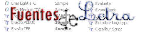 Donde descargar Fuentes de Letra gratis. OPCIONWEB.com