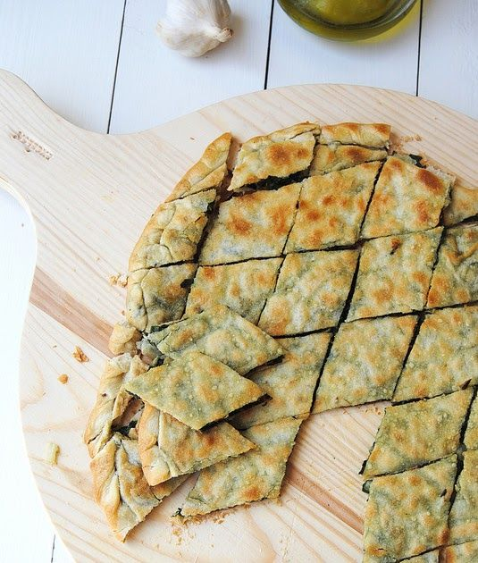 Soparnik is a savoury pie, consisting in two thin sheets of dough similar to filo dough, only slightly thicker, and a filling prepar...