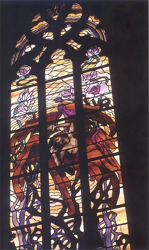 Stigma of St. Francis, St. Francis of Assisi's Church, Krakow, 1904