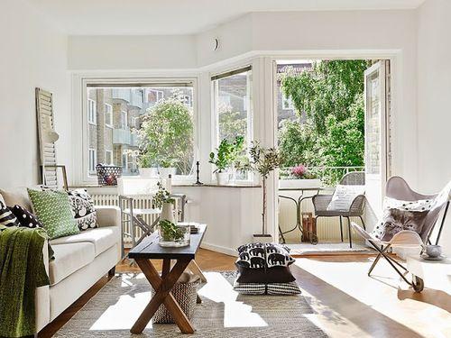 Jurnal de design interior - Amenajări interioare, decorațiuni și inspirație pentru casa ta: Apartament amenajat în stil scandinav
