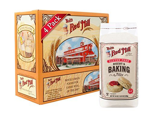 Bobs Red Mill Gluten Free Biscuit  Baking Mix 24 Ounce Pack of 4 >>> See this great product.(This is an Amazon affiliate link and I receive a commission for the sales)