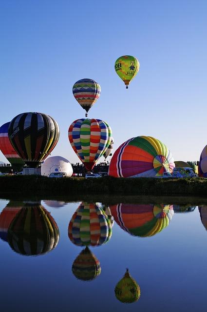 ✯ Saga International Balloon Festa in Saga, Japan