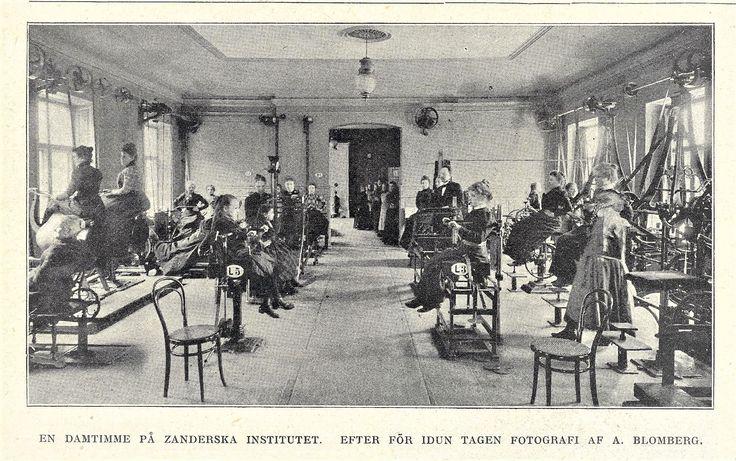 Zanderinstitut in Stockholm 1900 The ladys hour