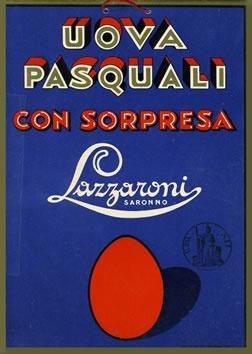 Artist Unknown  Uova Pasquali Con Sorpresa - Lazzaroni, 1940s