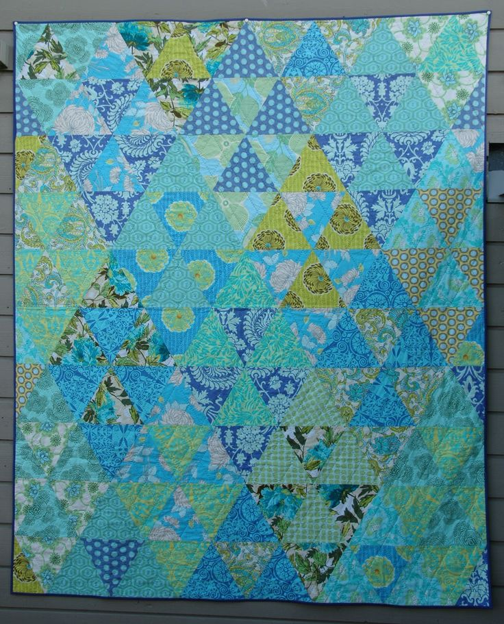 More triangles from Marit at Quilt-it