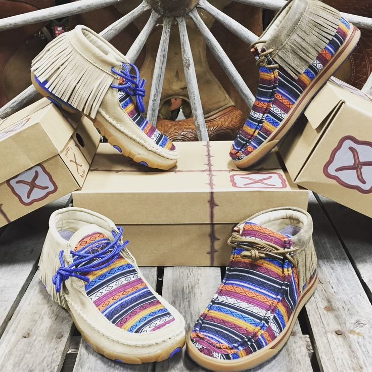 All new Serape Twisted X Moccasins are here  Get em before they are gone! www.shopwesternedge.com