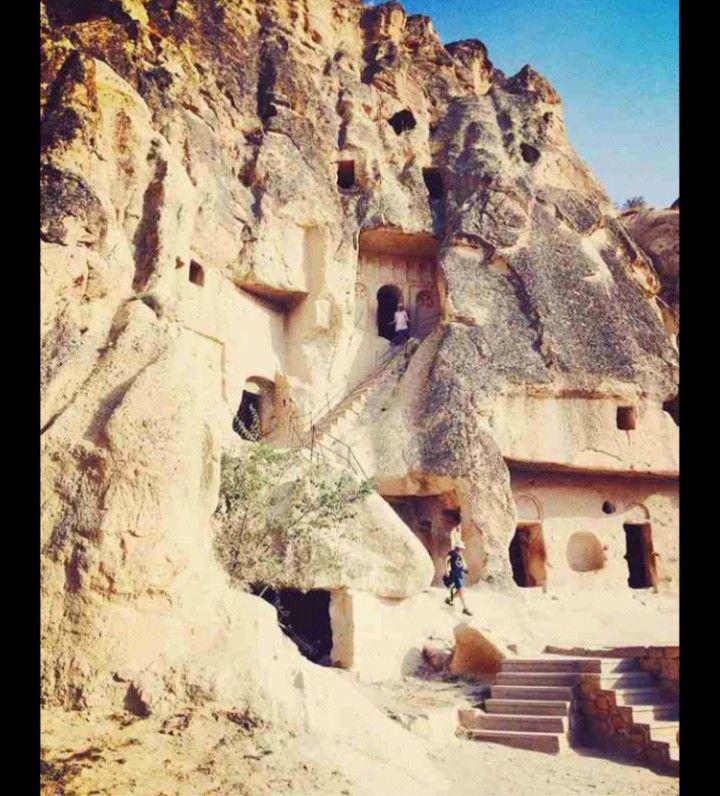 Open Air MuseumGoremeNevsehirTurkiye Kapadokya