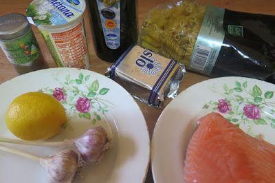 Domácí poklady: Těstoviny se smetanovou omáčkou a lososem