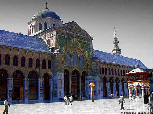 https://flic.kr/p/7kntzs | Umayyad mosque (Damascus, Syria) | islam in Iraq represents the 89% of the population  it is the main religion of Syria