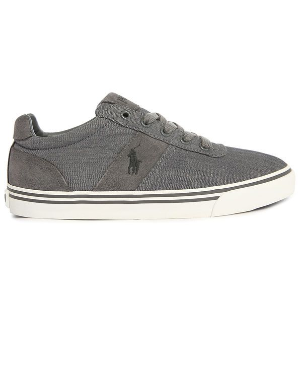 40% Descuento | POLO Ralph Lauren, Hanford Grey Canvas Chevron Sneakers