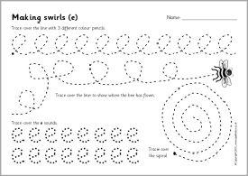 Pencil control worksheets 2 (SB3043) - SparkleBox