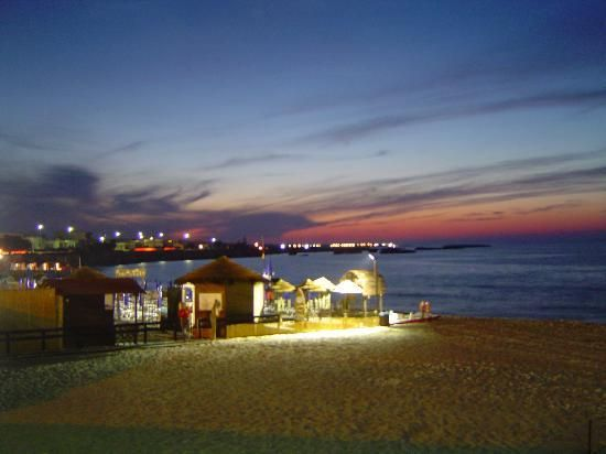 #Meledugno beach at night