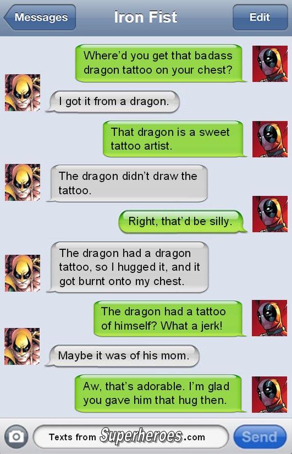 Iron Fist's Dragon Tattoo [Comic]