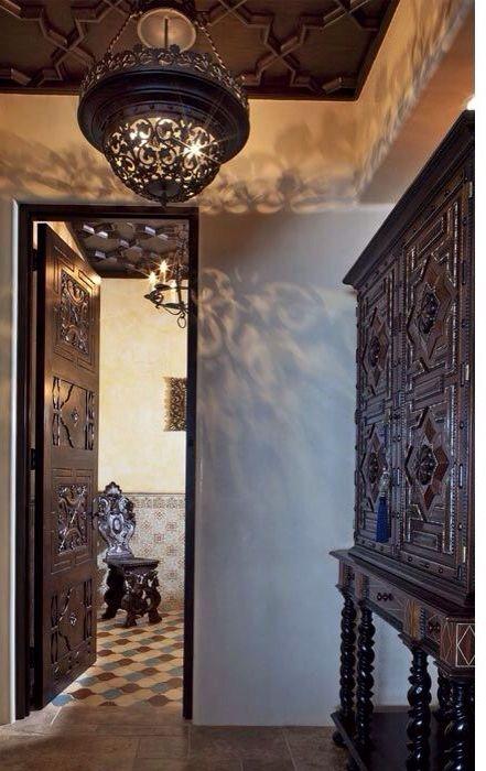 Spanish Ceilings And Arabesque Tile On Pinterest