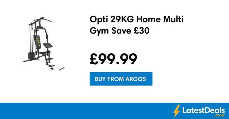 Opti 29KG Home Multi Gym Save £30, £99.99 at Argos