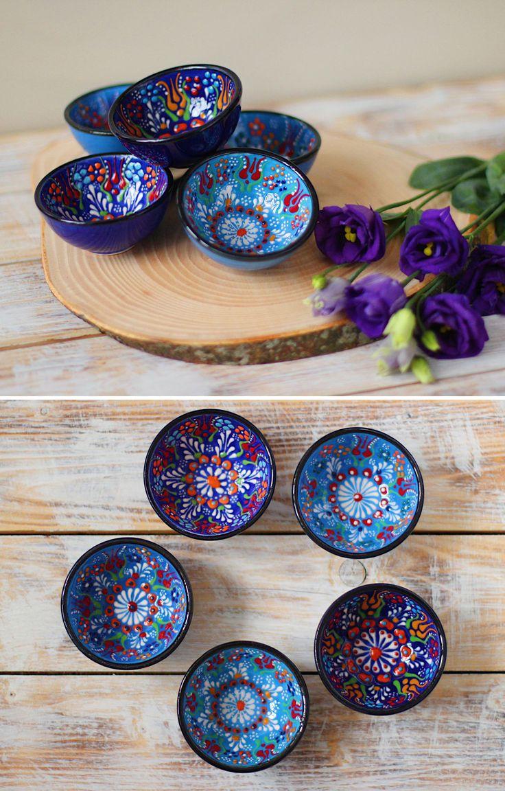 Ceramic Sauce Boats | Набор керамических соусниц с ручной росписью — работа дня на Ярмарке Мастеров