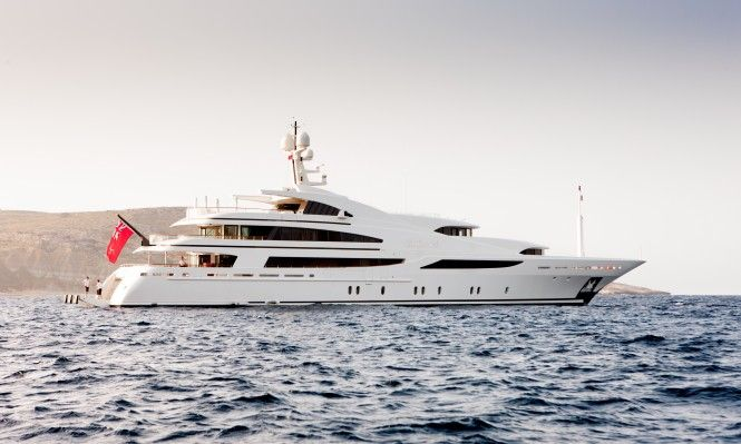 60M ST DAVID Superyacht Available for Monaco Grand Prix 2016 Yacht Charter Including Berth