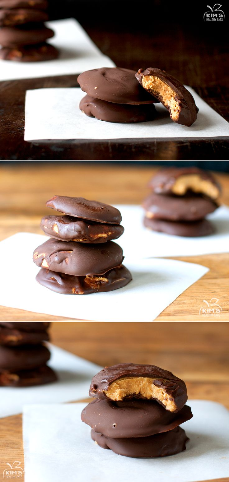 Peanut Butter Chocolate Patties