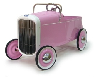 1932 Ford Pink Ford Pink Roadstervintage toyluxury ride-on toychildrens rideon toykids pedal car  sc 1 st  Pinterest & 27 best VINTAGE PEDAL CARS images on Pinterest | Pedal cars Car ... markmcfarlin.com