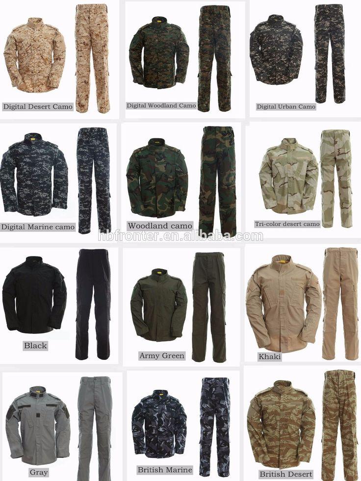 Kustom jerman seragam tentara ACU berburu pakaian kamuflase seragam militer amerika