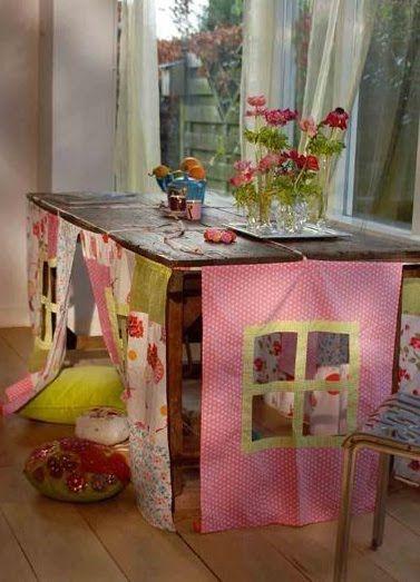Clubinho da Costura: Para Inspirar - Tolha de mesa divertida!