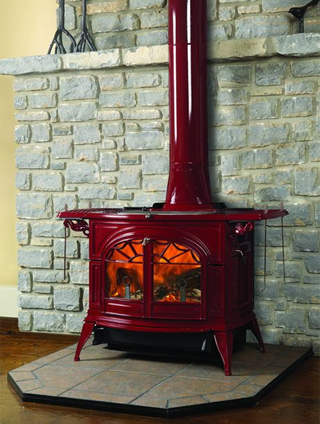 Vermont Castings FlexBurn Wood Stove made from recycled materials