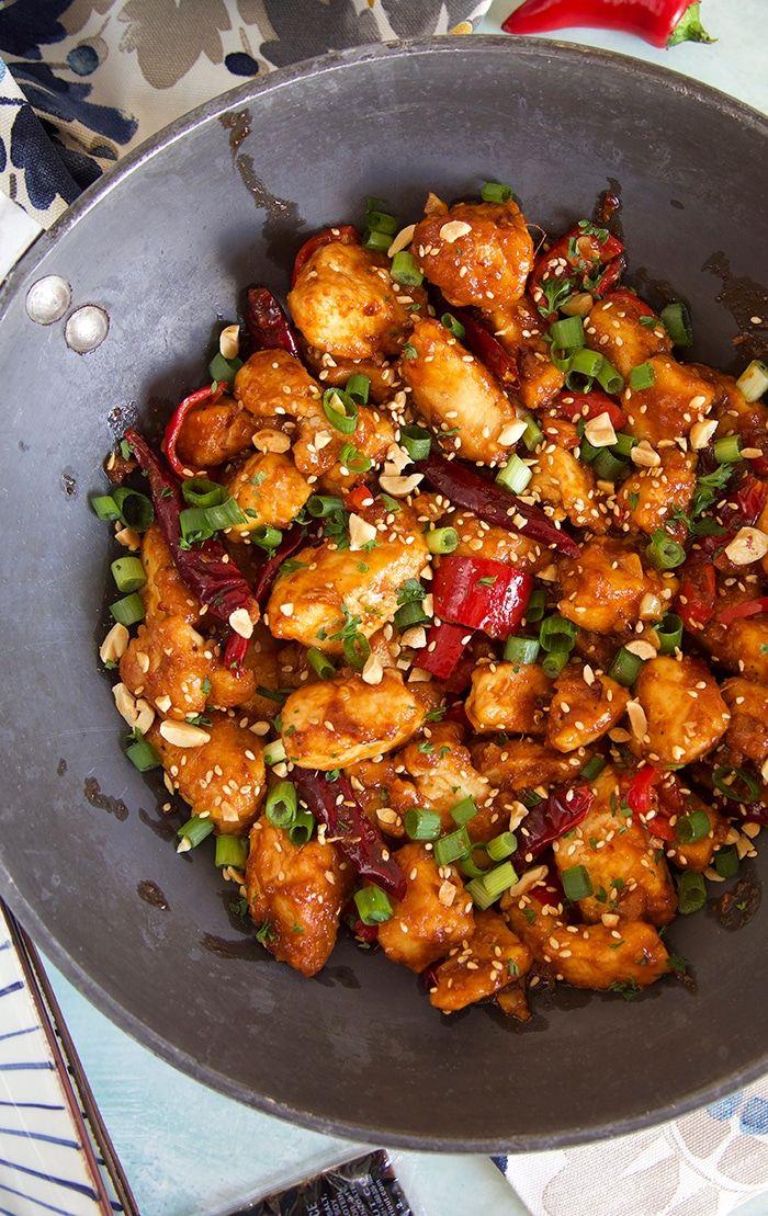 Easy Szechuan Chicken Stir Fry Recipe The Suburban Soapbox Recipe Stir Fry Recipes Chicken Wok Recipes Chicken Dishes