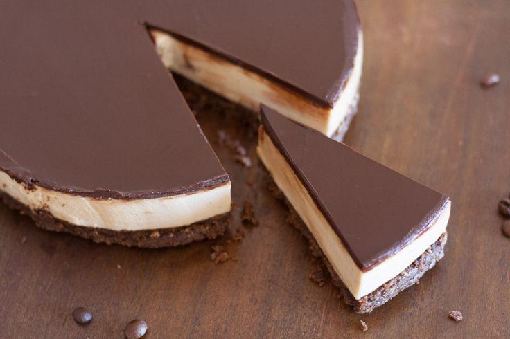 Cheesecake semi-frio de café e chocolate                                                                                                                                                     Mais