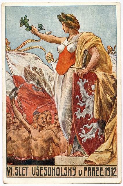 VI. Slet Všesokolský v Praze, 1912 The 6th Sokol Festival in Prague, 1912